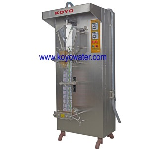 3000Sachet/h KOYO sachet water filling sealing machine