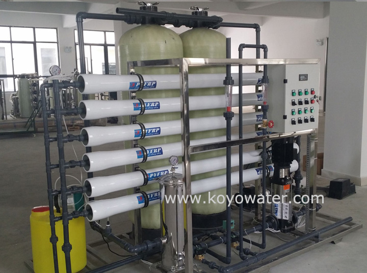 pure water plant Reverse Osmosis System 3000L
