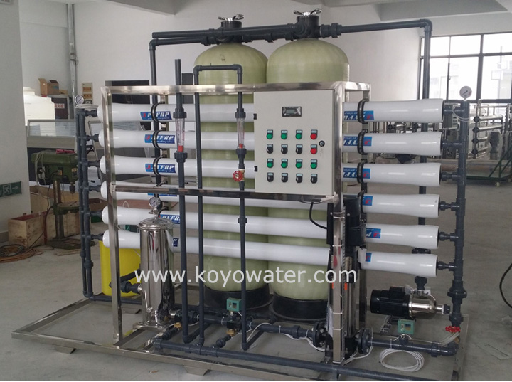 3000L pure water plant Reverse Osmosis System