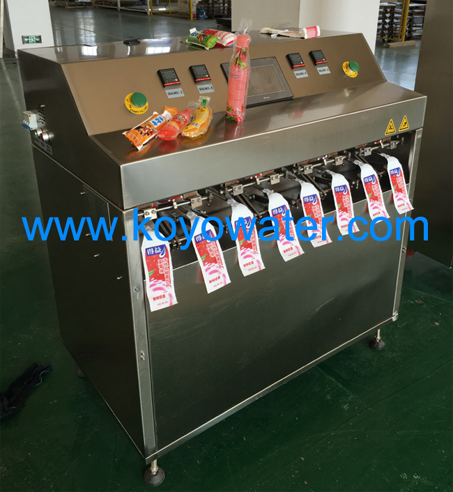 Bottle Shape Pouch Filling And Sealing Machine