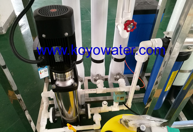 Sea water Filter with reverse osmosis system